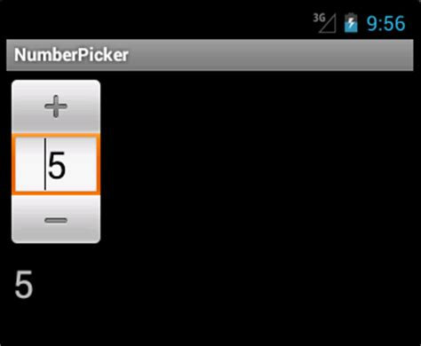 android numberpicker android pickers programming tutorials manwhocodes