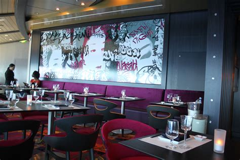 layout of a restaurant review restaurant review izumi on navigator of the seas royal