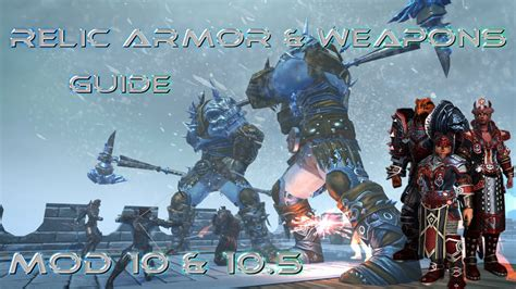 artifact weapon official neverwinter wiki neverwinter relic armor weapons guide youtube