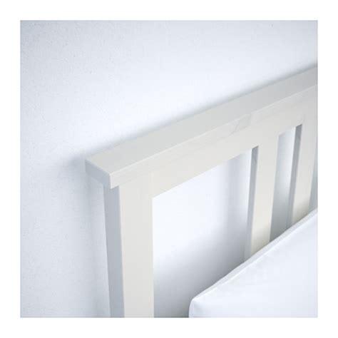 Ikea White Bed Frame Single Hemnes Bed Frame White Stain L 246 Nset Standard Single Ikea
