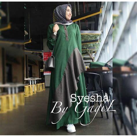 Baju Gamis Terbaru Dan Termurah Model Baju Muslim Wanita Terbaru Termurah Dan Modis Ella51