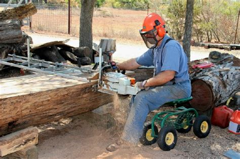 Chainsaw Sawmilling For Old Guys