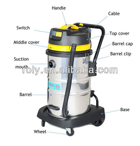 industrial heavy duty vacuum cleaner for factory car wash
