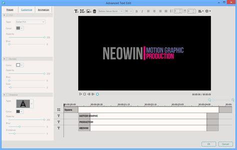 Wondershare Filmora 7 0 Neowin Install Motion Graphics Template