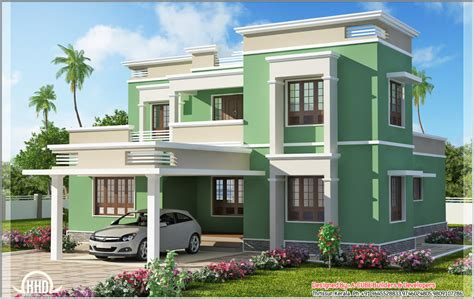 front elevation for small house studio design