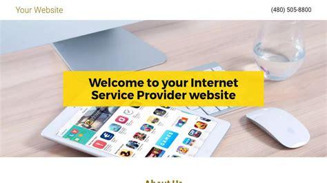 Internet Service Provider Website Templates Godaddy Service Provider Website Templates