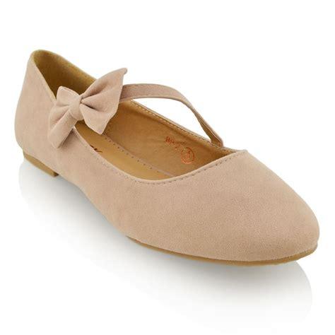 flat ballet wedding shoes new womens pumps flat bow glitter ballet ballerina