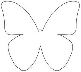 Butterfly Outline Printable by Butterfly Outline Template Cliparts Co