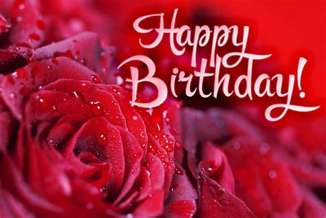Happy Birthday Cards With Roses Happy Birthday Roses Images Birthday Roses Pictures