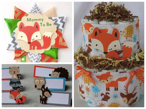Woodland Animals Baby Shower Decorations by Woodland Animals Baby Shower Ideas Pictures To Pin On