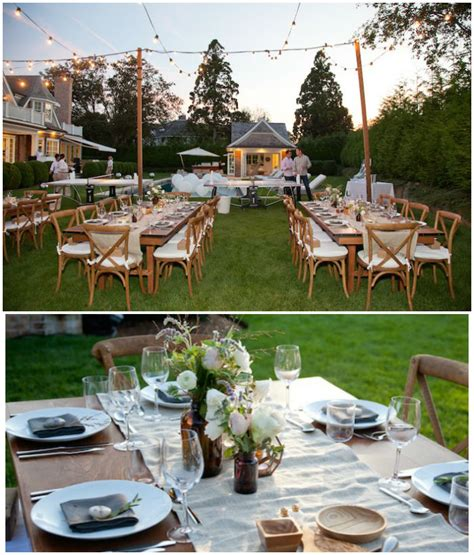 rustic backyard party ideas kara s party ideas rustic outdoor birthday soiree kara s