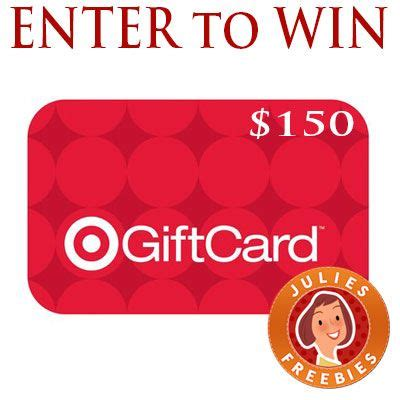 Enter To Win Free Gift Cards - enter to win 150 target gift card free stuff by mail pinterest