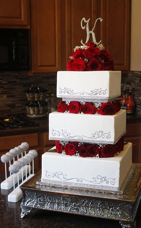 square wedding cakes heavenly cake pops square tiered cake