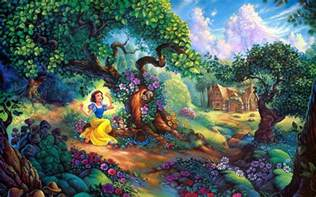 Bambi Wall Mural disney snow white fairy tale wallpaper hd download