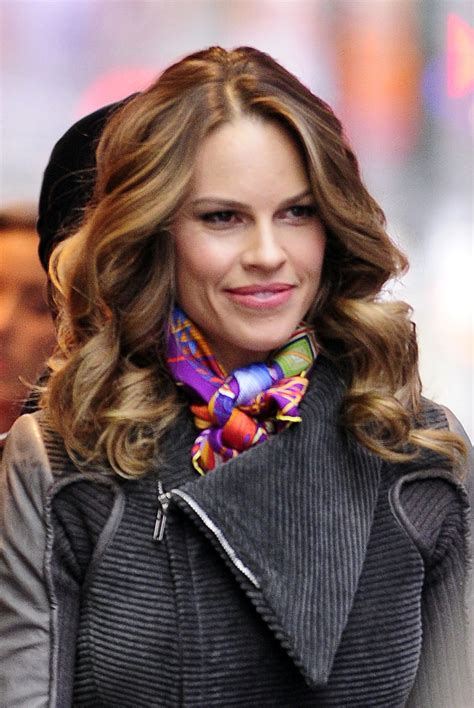 Hilary Swank Opens Up by Hilary Swank Photos Photos Hilary Swank On Set Zimbio
