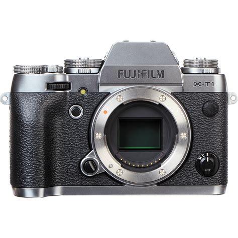 fuji mirrorless fujifilm x t1 mirrorless digital 16442755 b h photo