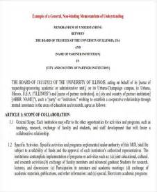 Binding Agreement Template Agreement Examples