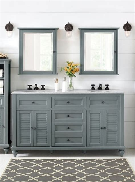 Colored Bathroom Vanity 15 gorgeous colored bathroom vanity ideas for your bathroom