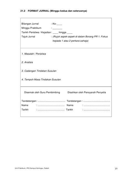 format buku verbal buku panduan praktikum kpli pra sek jun 2010 bah 2