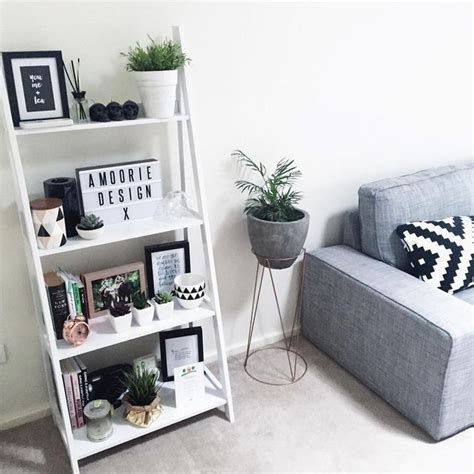 ikea decoration top 25 best ladder shelf decor ideas on pinterest
