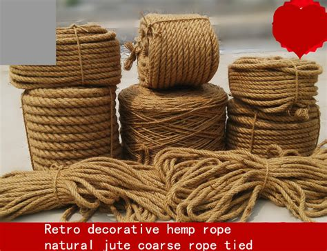 Decorative Twine by Woven Hemp Rope Diy Retro Decorative
