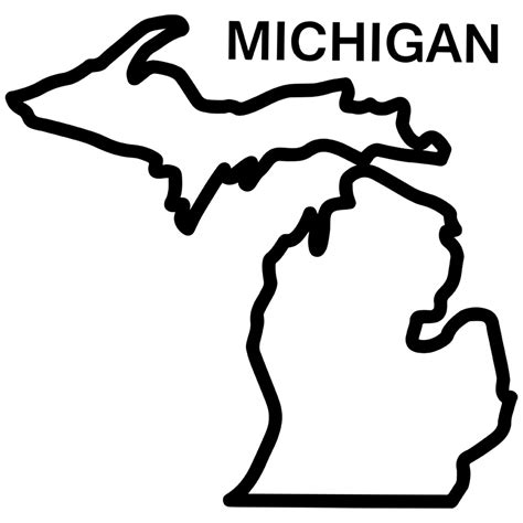 Outline Of Michigan State by Free Coloring Pages Of Michigan Football