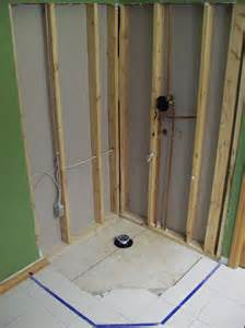 image gallery shower installation