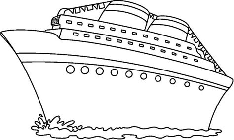 Carnival Cruise Ship Coloring Pages Pictures To Pin On Cruise Ship Coloring Page