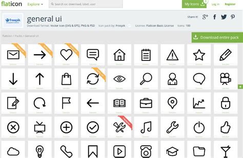 Edit Resume Online Free by 10 Quality Free Flat Icon Sets For Your Designs Sitepoint