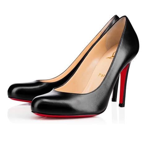 Shoes Christian Louboutin Po245 1 christian louboutin leather toe pumps louboutins