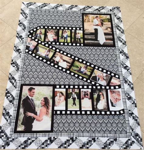 Photo Quilt Fabric by Best 25 Photo Quilts Ideas On Photo Blanket