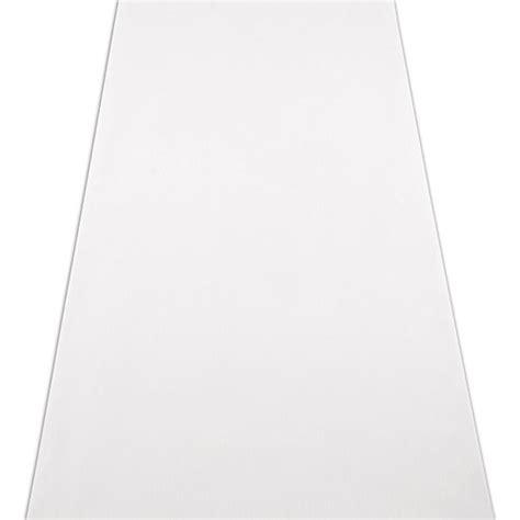 Wedding Aisle Runner Fabric by Plain White Fabric Wedding Aisle Runner The Knot Shop