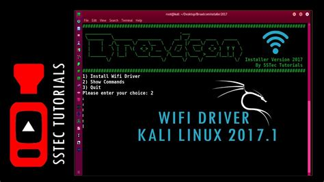 tutorial quebrar senha wifi kali linux how to install wifi driver in kali linux 2017 1 braodcom