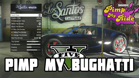 Pimp Out Your Ridewith Computer by Pimp My Ride Gta V Bugatti Version