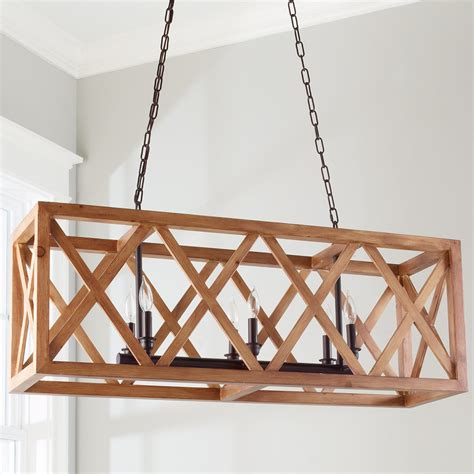 Rectangular Wood Chandelier Rectangular Wood Chandelier Chandelier Gallery