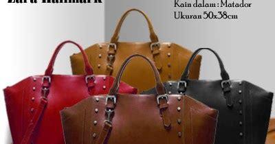 Tas Wanita Original Bandung Ra 046 tas zara hallmark replika dari zara studded tote shopper