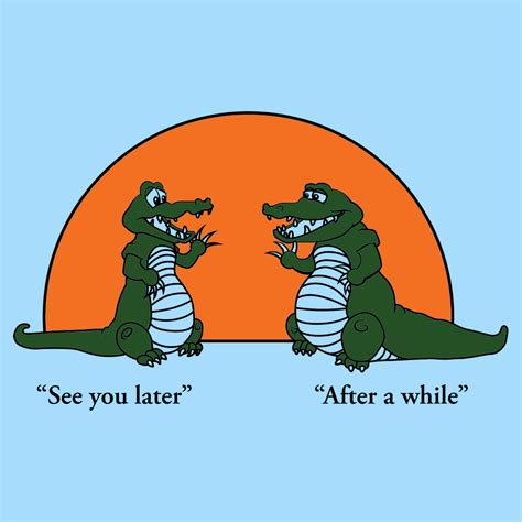 See You see you later alligator t shirt snorgtees