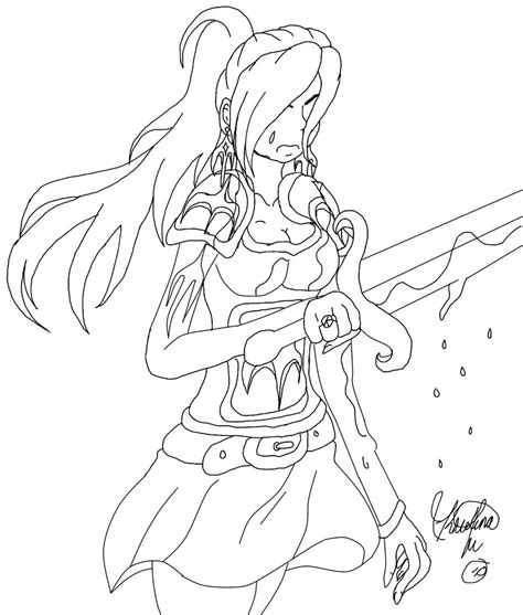 Warrior Princess By Gothicjapan1 On Deviantart Warrior Princess Coloring Pages Free Coloring Pages