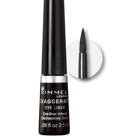 Rimmel Eyeliner rimmel exaggerate felt tip eyeliner walmart canada