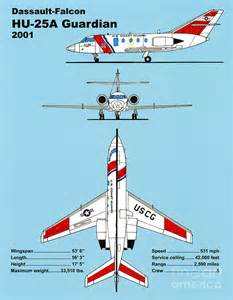 coast guard dassault falcon drawing jerry mcelroy public domain image