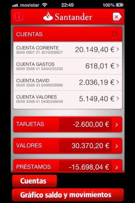 santander movil nueva aplicaci 243 n de banco santander para iphone demo