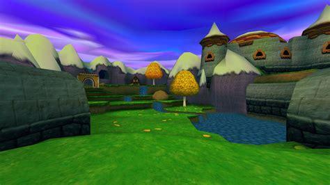 Castle On A Cloud Sunrise Spring Spyro Wiki Fandom Powered By Wikia
