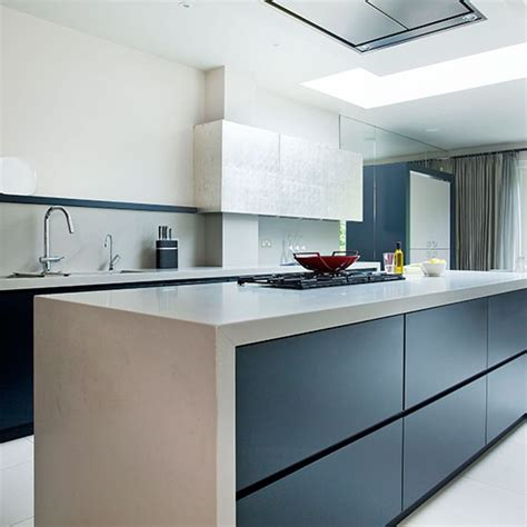 contemporary kitchen worktops modern kitchen with quartz composite worktop decorating