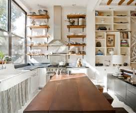 Kitchen Shelf Design by Open Kitchen Shelves Inspiration