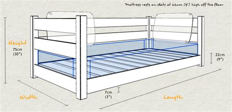 Standard Bed Frame Sizes Modern Day Bed