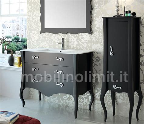 mobili bagno neri 17 best images about mobili bagno chic on