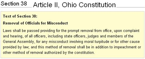 what is article i section 8 commonly known as august 2010 stark county political report
