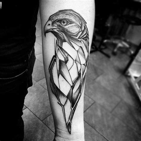 geometric animal tattoo designs 60 geometric animal tattoo designs for men cool ink ideas