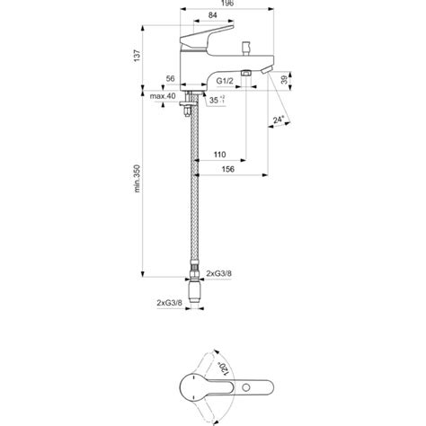 mitigeur baignoire 659 robinet monotrou mitigeur bain porcher olyos c2
