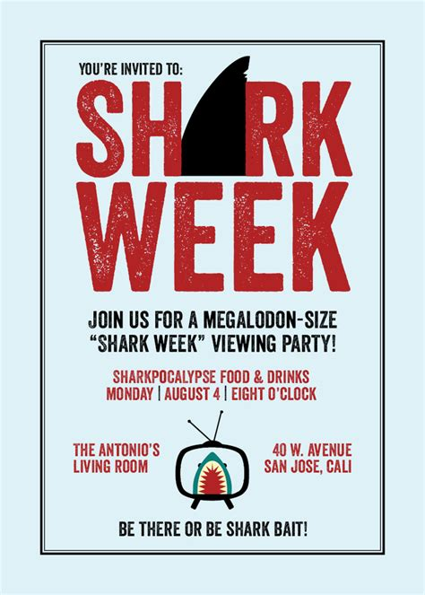 shark party font shark week font forum dafont com